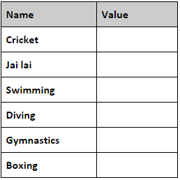 Business Rules 201: excluded sports lookup list